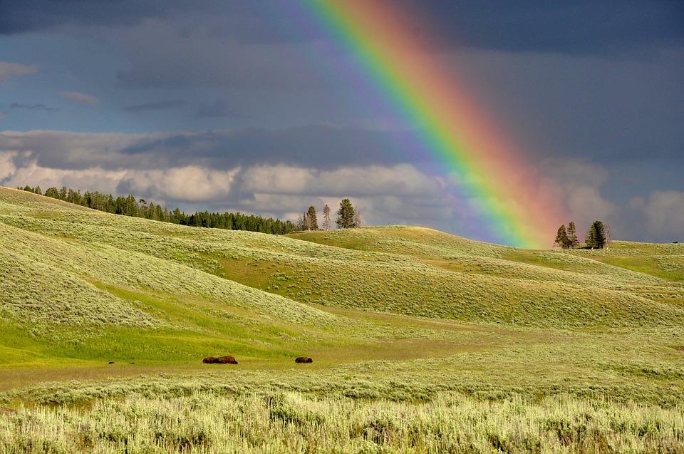Orar con el arcoiris