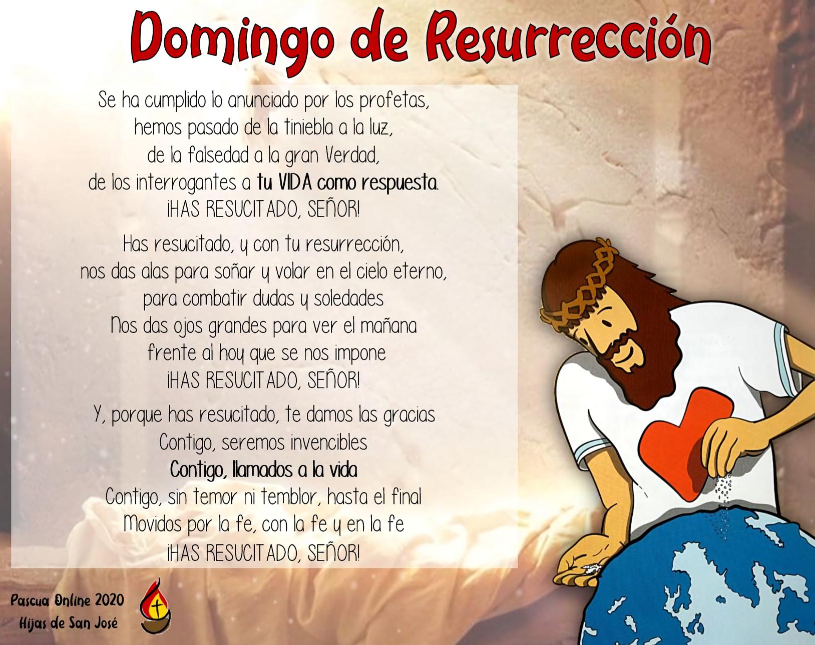 Domingo de Resurrección joven