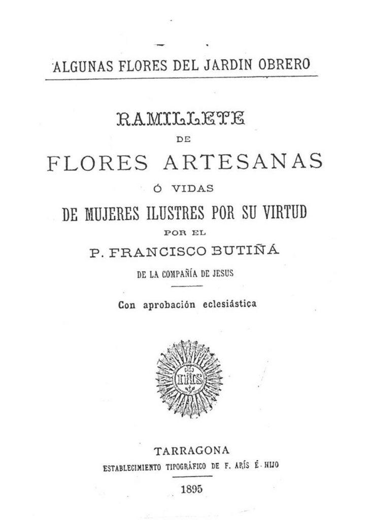 Ramillete de flores artesanas