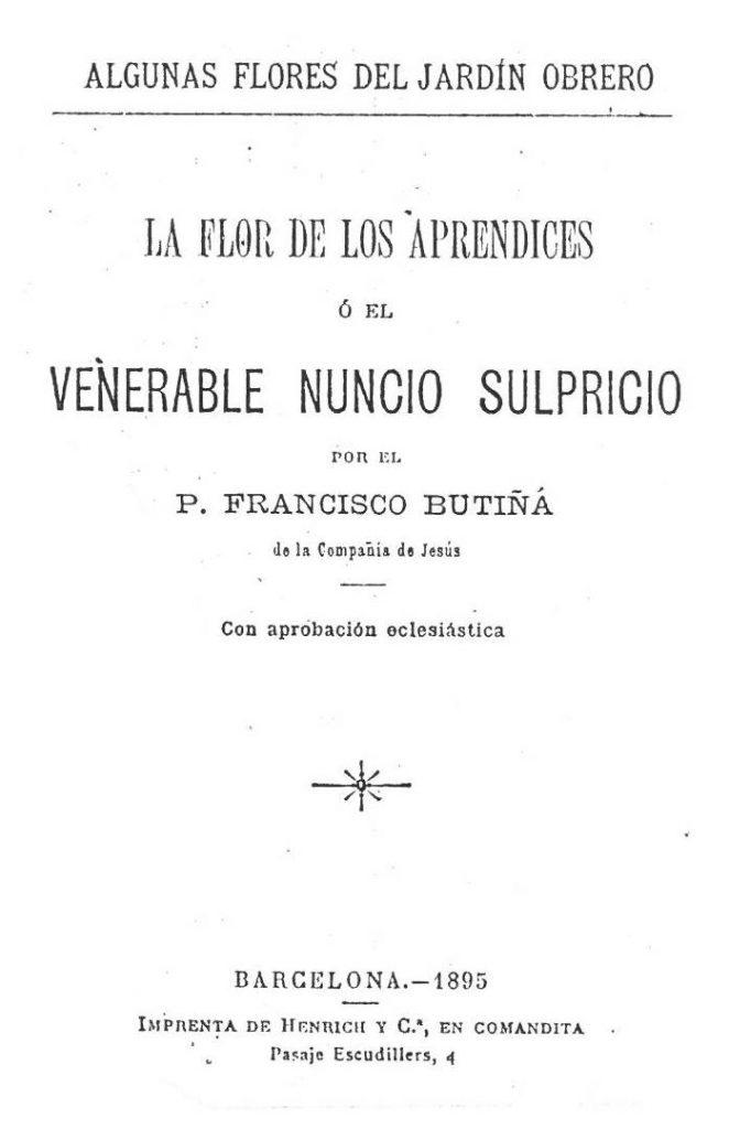 El venerable Nuncio Sulpricio