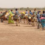 Caravana de migrantes africanos